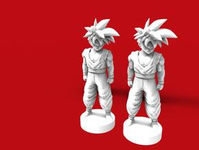 Son Goku dragon ball (2x) in Frosted Ultra Detail