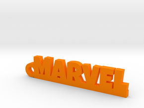 MARVEL Keychain Lucky in Orange Processed Versatile Plastic