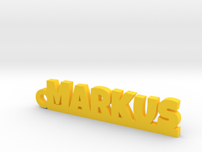 MARKUS Keychain Lucky in Yellow Processed Versatile Plastic