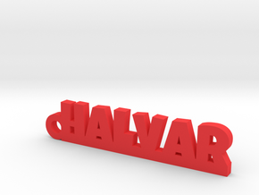 HALVAR Keychain Lucky in Red Processed Versatile Plastic