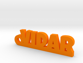 VIDAR Keychain Lucky in Orange Processed Versatile Plastic