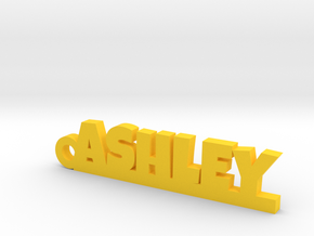 ASHLEY Keychain Lucky in Yellow Processed Versatile Plastic