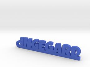 INGEGARD Keychain Lucky in Blue Processed Versatile Plastic