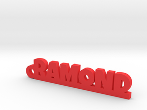 RAMOND Keychain Lucky in Red Processed Versatile Plastic