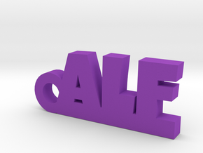 ALF Keychain Lucky in Purple Processed Versatile Plastic
