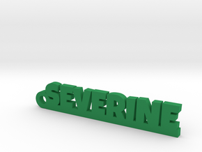 SEVERINE Keychain Lucky in Green Processed Versatile Plastic