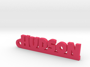 HUDSON Keychain Lucky in Smooth Fine Detail Plastic