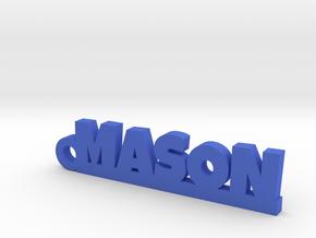 MASON Keychain Lucky in Blue Processed Versatile Plastic