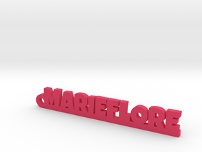 MARIEFLORE Keychain Lucky in Pink Processed Versatile Plastic
