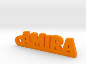 AMIRA Keychain Lucky in Orange Processed Versatile Plastic