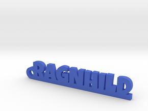 RAGNHILD Keychain Lucky in Blue Processed Versatile Plastic