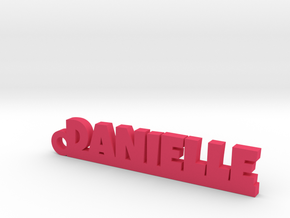DANIELLE Keychain Lucky in Pink Processed Versatile Plastic