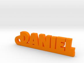 DANIEL Keychain Lucky in Orange Processed Versatile Plastic