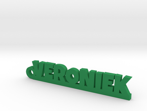 VERONIEK Keychain Lucky in Green Processed Versatile Plastic