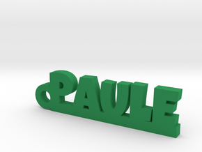 PAULE Keychain Lucky in Green Processed Versatile Plastic
