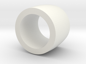 Belt Idler Wheel for RA 800 in White Natural Versatile Plastic