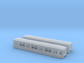 BR 477 Mod TT [2x body] in Smooth Fine Detail Plastic