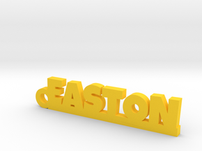 EASTON Keychain Lucky in Yellow Processed Versatile Plastic