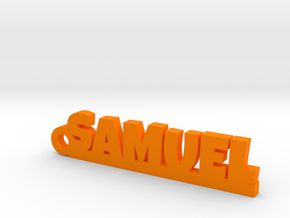 SAMUEL Keychain Lucky in Orange Processed Versatile Plastic