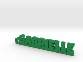 GABRIELLE Keychain Lucky in Green Strong & Flexible Polished