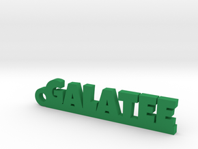 GALATEE Keychain Lucky in Green Processed Versatile Plastic