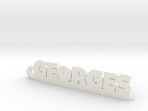GEORGES Keychain Lucky in Smooth Fine Detail Plastic