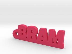 BRAM Keychain Lucky in Pink Processed Versatile Plastic