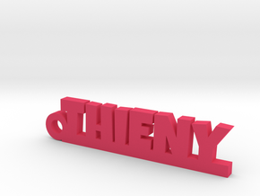 THIENY Keychain Lucky in Pink Processed Versatile Plastic