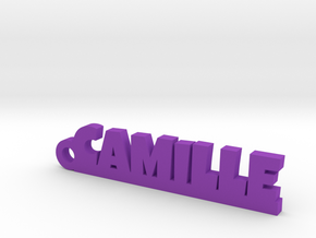 CAMILLE Keychain Lucky in Purple Processed Versatile Plastic