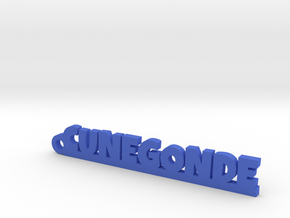 CUNEGONDE Keychain Lucky in Blue Strong & Flexible Polished
