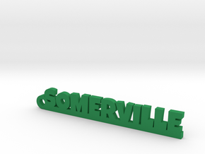 SOMERVILLE Keychain Lucky in Green Processed Versatile Plastic