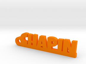 CHAPIN Keychain Lucky in Orange Processed Versatile Plastic