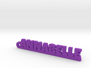 ANNABELLE Keychain Lucky in Purple Processed Versatile Plastic