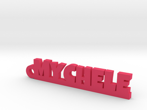 MYCHELE Keychain Lucky in Pink Processed Versatile Plastic