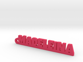 MADELEINA Keychain Lucky in Pink Strong & Flexible Polished