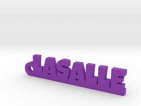 LASALLE Keychain Lucky in Purple Processed Versatile Plastic