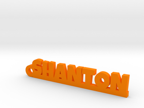 SHANTON Keychain Lucky in Orange Strong & Flexible Polished