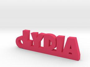 LYDIA Keychain Lucky in Pink Processed Versatile Plastic