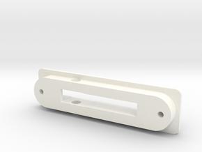 Moulure pour les poignées de fenetres Arcon in White Processed Versatile Plastic
