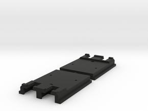"Kato Unijoiner adapter for Peco 009 track ""on-top"" in Black Strong & Flexible"