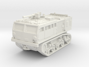 M4 tractor (USA) 1/100 in White Strong & Flexible
