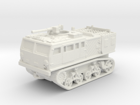 M4 tractor (USA) 1/144 in White Natural Versatile Plastic