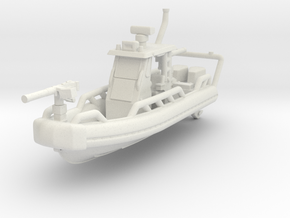 1/144 Safe Boat Oswald Class Patrol Boat (Coastal  in White Natural Versatile Plastic