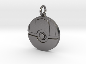 Ultra ball pendant in Polished Nickel Steel
