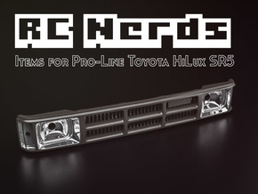 RCN004 Full grill  for Pro-Line Toyota SR5 in White Natural Versatile Plastic