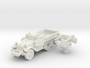 M3 Half-track roller (Usa) 1/100 in White Natural Versatile Plastic