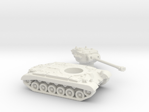 M26 Pershing (USA) 1/200 in White Natural Versatile Plastic