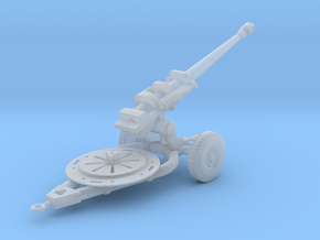 L118 Light Gun Solid Model (1:144) in Smooth Fine Detail Plastic