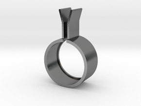 2ring3bodyouter20by8x5newexport in Polished Silver: 8.5 / 58