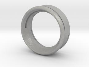 Modern+Cutout Slim in Aluminum: 6.5 / 52.75